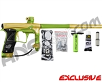 Planet Eclipse Geo 3 Paintball Gun - Gold/Lime