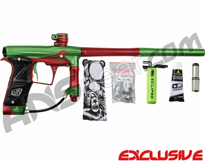 Planet Eclipse Geo 3 Paintball Gun - Green/Red