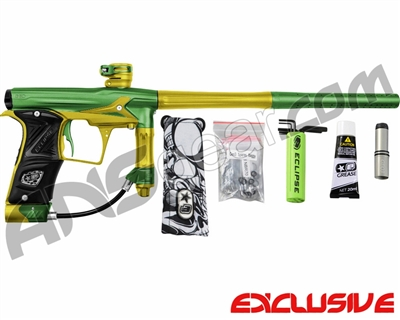 Planet Eclipse Geo 3 Paintball Gun - Green/Yellow