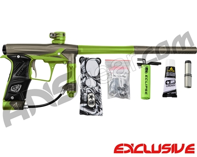 Planet Eclipse Geo 3 Paintball Gun - Grey/Lime