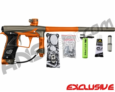 Planet Eclipse Geo 3 Paintball Gun - Grey/Orange