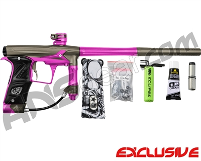 Planet Eclipse Geo 3 Paintball Gun - Grey/Pink