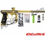 Planet Eclipse Geo 3 Paintball Gun - Khaki/Gold