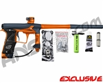 Planet Eclipse Geo 3 Paintball Gun - Navy Blue/Orange