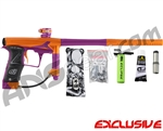 Planet Eclipse Geo 3 Paintball Gun - Orange/Purple