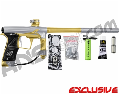 Planet Eclipse Geo 3 Paintball Gun - Silver/Gold