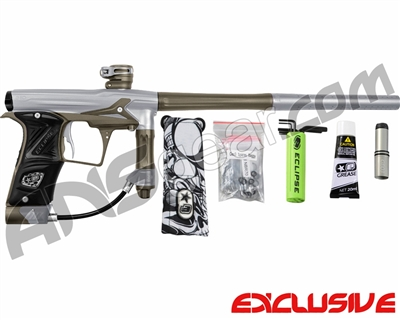 Planet Eclipse Geo 3 Paintball Gun - Silver/Grey