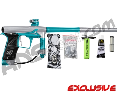 Planet Eclipse Geo 3 Paintball Gun - Silver/Teal