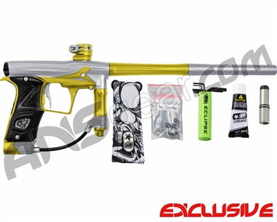 Planet Eclipse Geo 3 Paintball Gun - Silver/Yellow