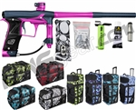 Planet Eclipse Geo 3 Paintball Gun w/ Gear Bag - Dark Blue/Pink