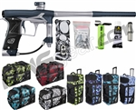 Planet Eclipse Geo 3 Paintball Gun w/ Gear Bag - Dark Blue/Silver