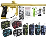Planet Eclipse Geo 3 Paintball Gun w/ Gear Bag - Gold/Gold