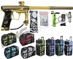 Planet Eclipse Geo 3 Paintball Gun w/ Gear Bag - Khaki/Gold