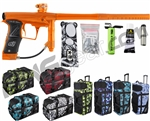 Planet Eclipse Geo 3 Paintball Gun w/ Gear Bag - Orange/Orange