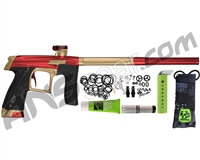 Planet Eclipse Geo CS1 Paintball Gun - Red/Sandstone