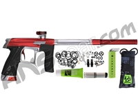 Planet Eclipse Geo CS1 Paintball Gun - Red/Silver