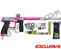 Planet Eclipse Geo CS1 Paintball Gun - Silver/Dust Pink