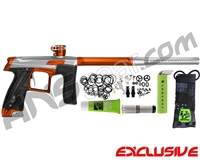 Planet Eclipse Geo CS1 Paintball Gun - Silver/Orange