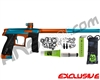 Planet Eclipse Geo CS1 Paintball Gun - Teal/Orange