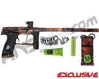 Planet Eclipse Gtek 160R Paintball Gun - Polished Acid Orange