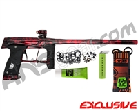 Planet Eclipse Gtek 160R Paintball Gun - Polished Acid Red
