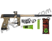 Planet Eclipse Gtek 160R Paintball Gun - Black/Tan