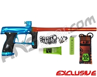 BLEMISHED Planet Eclipse Gtek 160R Paintball Gun - Polished Orange/Teal Fade