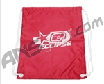 Planet Eclipse Reversible Hi Life Draw String Bag - Red