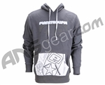 Planet Eclipse Men's Retrostick Hooded Sweatshirt - Charcoal
