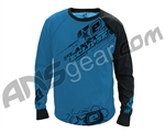 Planet Eclipse Men's 2011 Game Day Long Sleeve Practice Jersey - Blue