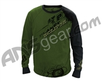 Planet Eclipse Men's 2011 Game Day Long Sleeve Practice Jersey - Olive