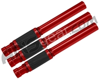 Planet Eclipse Shaft FL 3 Piece Barrel Back Kit - Autococker - Red