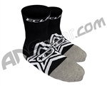 Planet Eclipse Star Socks - Black/Grey