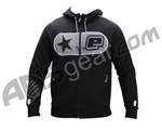 Planet Eclipse Men's B2 Zip Up Hooded Sweatshirt - Black
