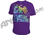 Planet Eclipse Men's 2010 Bold T-Shirt - Purple