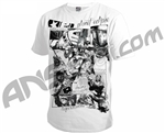 Planet Eclipse Men's 2011 Comic T-Shirt - White