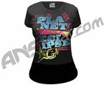 Planet Eclipse Girls 2011 Pop T-Shirt - Black