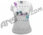 Planet Eclipse Girls 2011 Splash T-Shirt - White