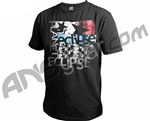 Planet Eclipse Men's 2011 Grunge T-Shirt - Black