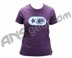 Planet Eclipse Women's Embossed T-Shirt - Purple