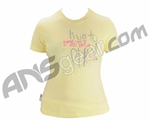 Planet Eclipse Girls Live to Play T-Shirt - Yellow