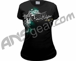 Planet Eclipse Girls Spirit T-Shirt - Black