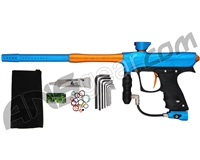 Proto Maxxed Rize Paintball Gun - Cyan/Orange