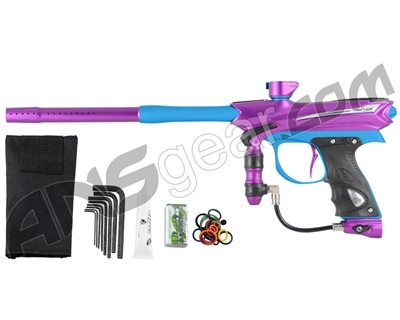 2013 Proto Reflex Rail Paintball Gun - Purple/Teal