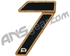 Push Division Velcro Number Patch #7 - Tan