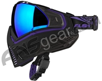 Push Unite Paintball Mask w/ Revo Lens - Black/Purple