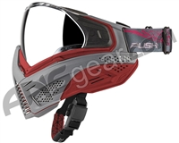 Push Unite Paintball Mask w/ Revo Lens - Grey/Red