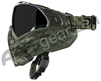 Push Unite Paintball Mask w/ Revo Lens - Olive Camo