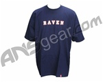 Raven Paintball Frat T-Shirt - Blue