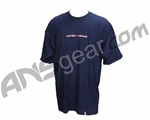 Raven Paintball Star T-Shirt - Blue